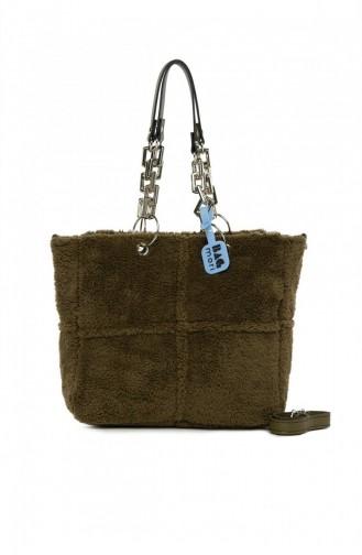 Khaki Shoulder Bags 8682166063475