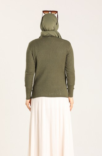 Khaki Blouse 5996-10