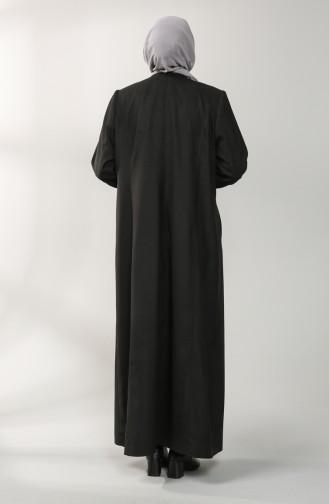 Black Lange Jas 4591-01