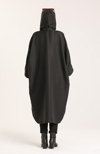 Black Poncho 9025A-01