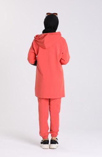 Pinkish Orange Sets 0435-02