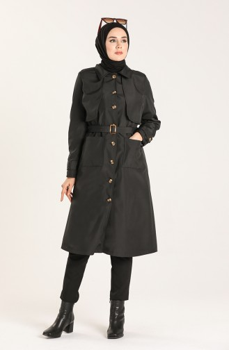 Trench Coat Noir 0001-05