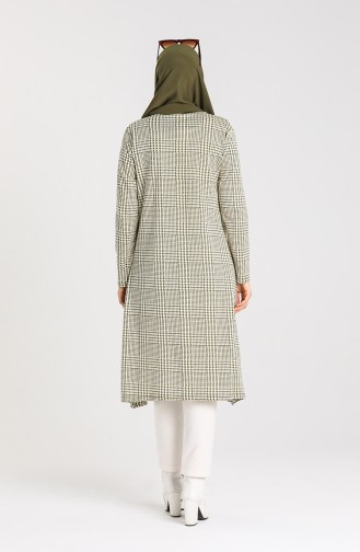 Crowbar Patterned Tunic 8147-02 Pistachio Green 8147-02