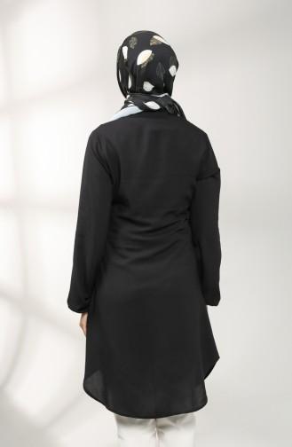 Judge Collar Tunic 3174-01 Black 3174-01