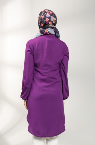 Judge Collar Tunic 3174-03 Purple 3174-03