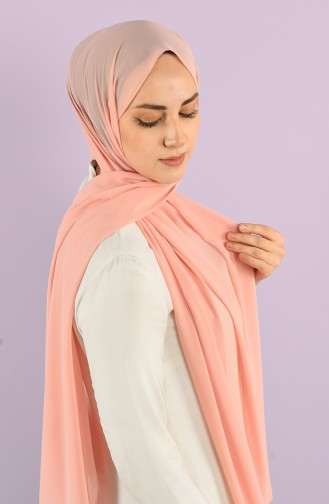 Light Salmon Shawl 90718-59
