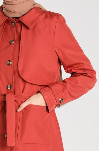 Brick Red Trenchcoat 0001-07