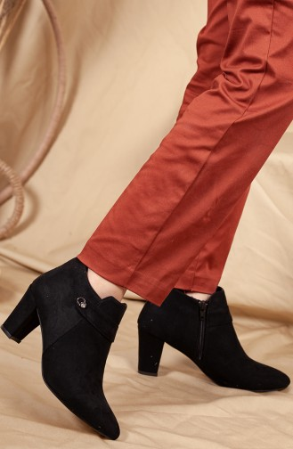Black Boots-booties 0515-02