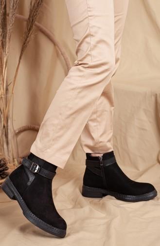 Black Boots-booties 0532-01