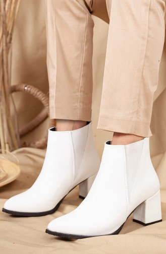 White Boots-booties 0538-01