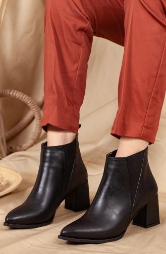 Black Boots-booties 0538-02