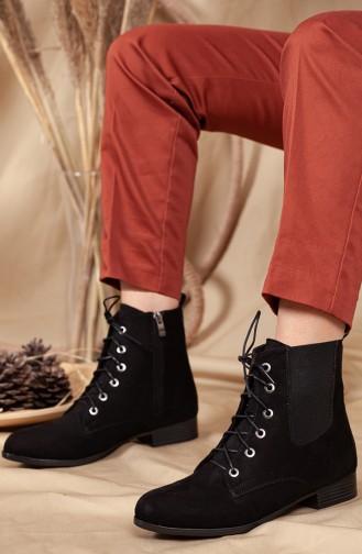 Black Boots-booties 0579-02