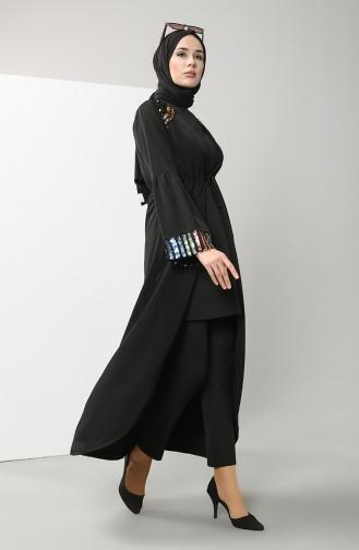 Abayas Noir 7374-01