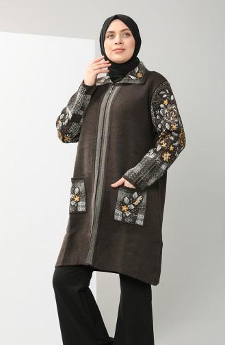 Brown Vest 6732-02