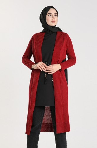 Claret Red Cardigans 55221A-08
