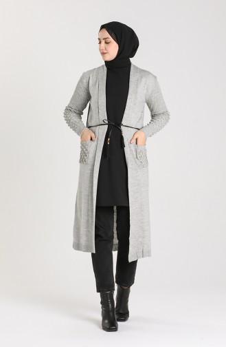 Gray Cardigans 55221C-07