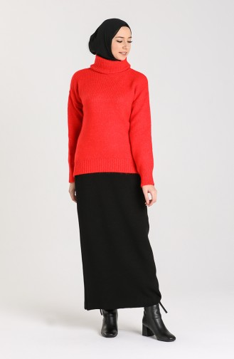 Rot Pullover 5018-01