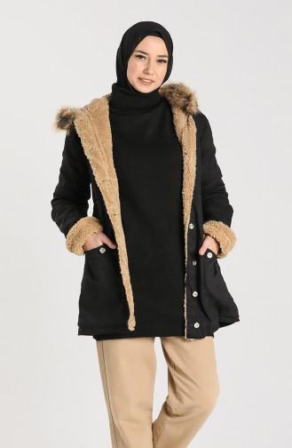 معطف أسود 2603-01