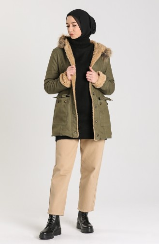 معطف كاكي 2603-04