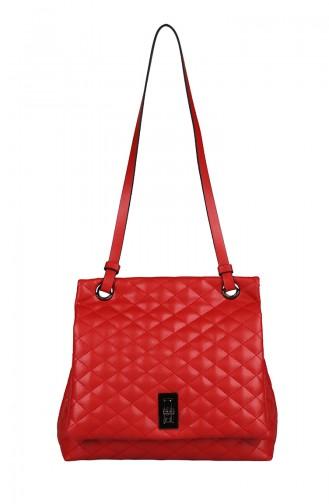 Red Shoulder Bags 433-055