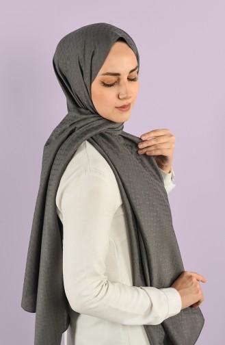 Dark Gray Shawl 15227-15