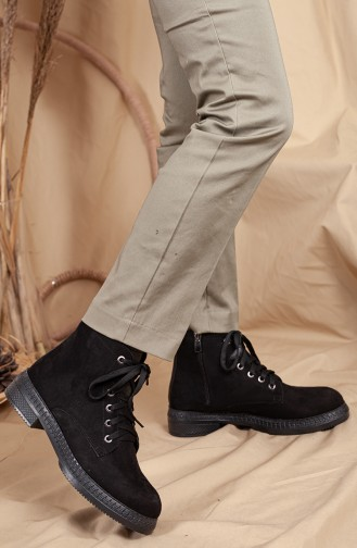Black Boots-booties 0531-01