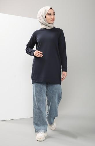 Navy Blue Sweatshirt 3235-07