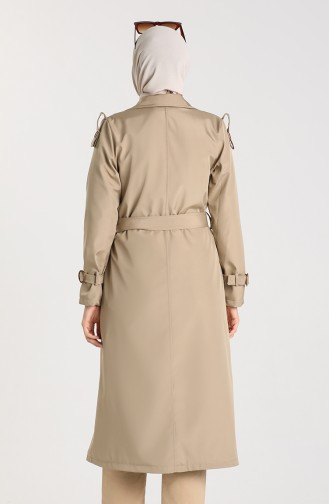 Beige Trench Coats Models 5069-05