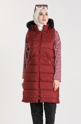 Claret Red Waistcoats 1053B-08