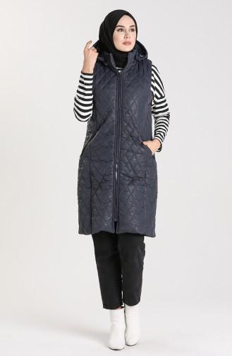 Navy Blue Waistcoats 1053C-02