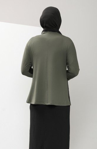 Khaki Blouse 0204-02