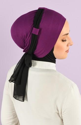Purple Ready to Wear Turban 0024-18-14