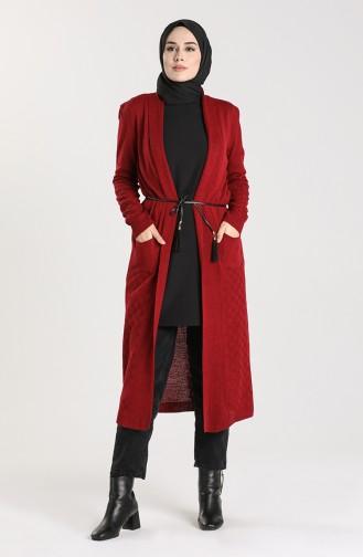 Claret Red Cardigans 55221B-03