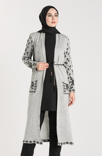 Gray Vest 55221D-07