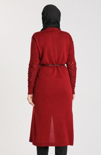 Claret Red Cardigans 55221E-02