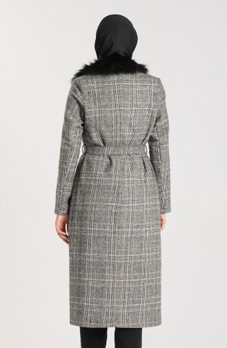 Grau Mantel 0305-01