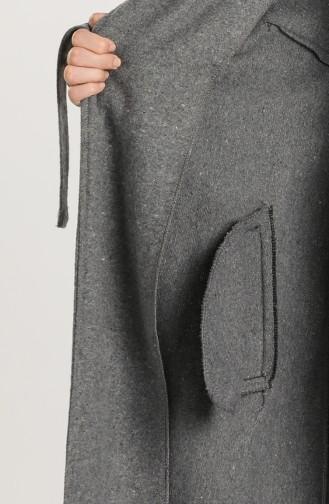 Grau Mantel 0305A-02