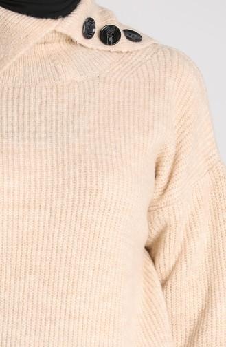 Knitwear Short Sweater 5015-03 Beige 5015-03