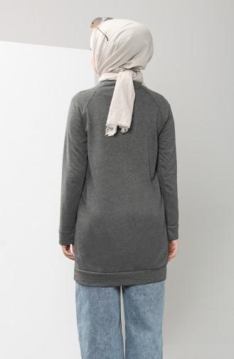 Smoke-Colored Sweatshirt 3235-04