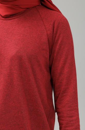 Claret Red Sweatshirt 3235-10