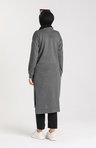 Tunic with Side Slit Pockets 3234-05 Smoked 3234-05
