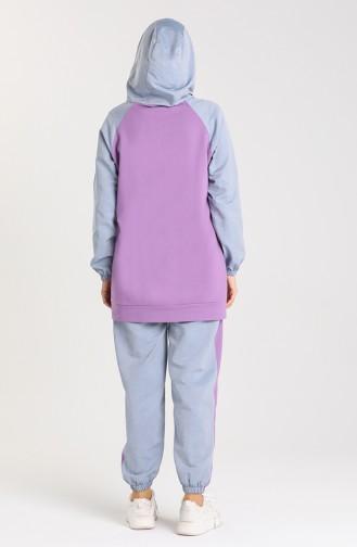Lilac Trainingspak 5538-01