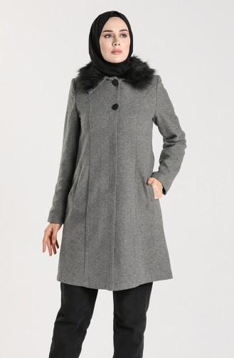 Sheepskin Coat 0306-01 Gray 0306-01