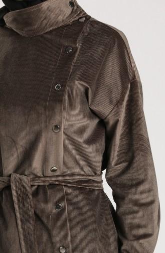 Velvet Belted Cap 36030-05 Mink 36030-05