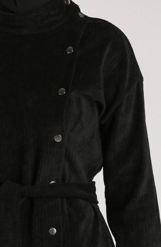 Velvet Belted Cap 36030-08 Black 36030-08