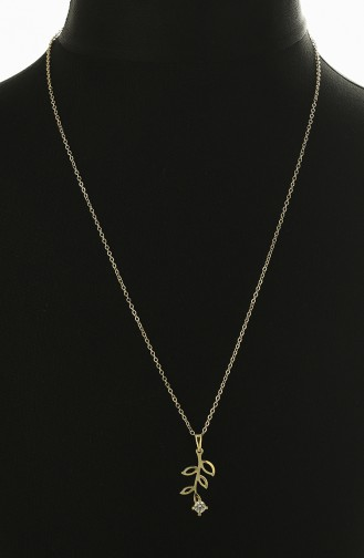 Yellow Necklace 0010-03