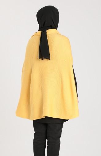 Mustard Poncho 2671-05