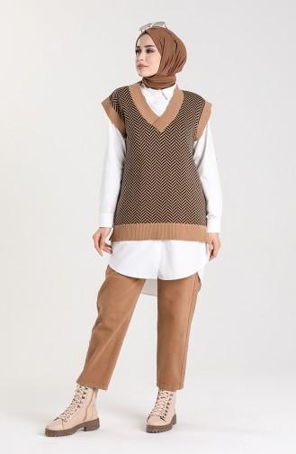Maroon Sweater 4348-01