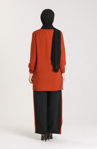 Aerobin Fabric Tunic Trousers Double Suit 9043-04 Tile 9043-04