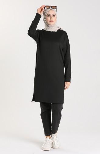 Tunique Noir 30022-01